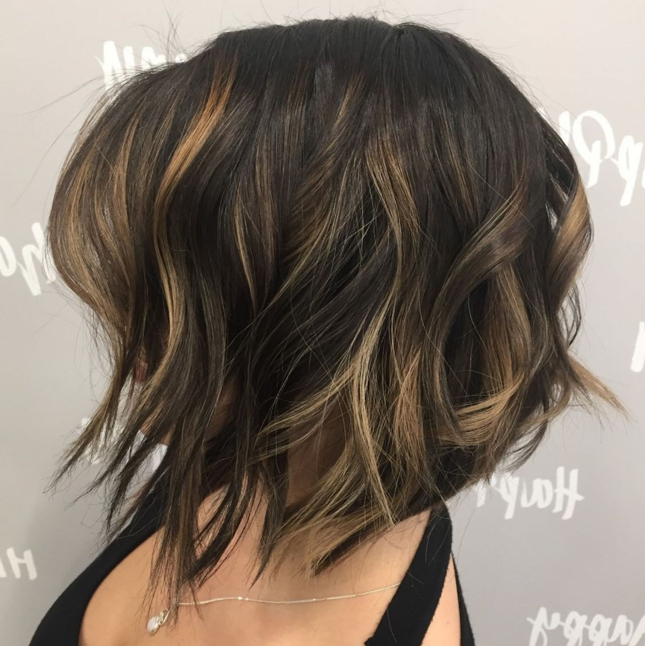 60 Messy Bob Hairstyles For Your Trendy Casual Looks | Hair Within Angled Brunette Bob Hairstyles With Messy Curls (View 10 of 20)