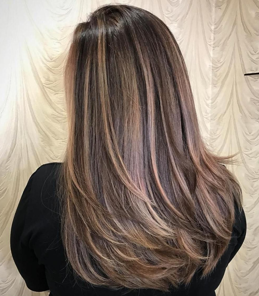 60 Most Beneficial Haircuts For Thick Hair Of Any Length In 2018 For Layered Haircuts For Thick Hair (View 12 of 20)
