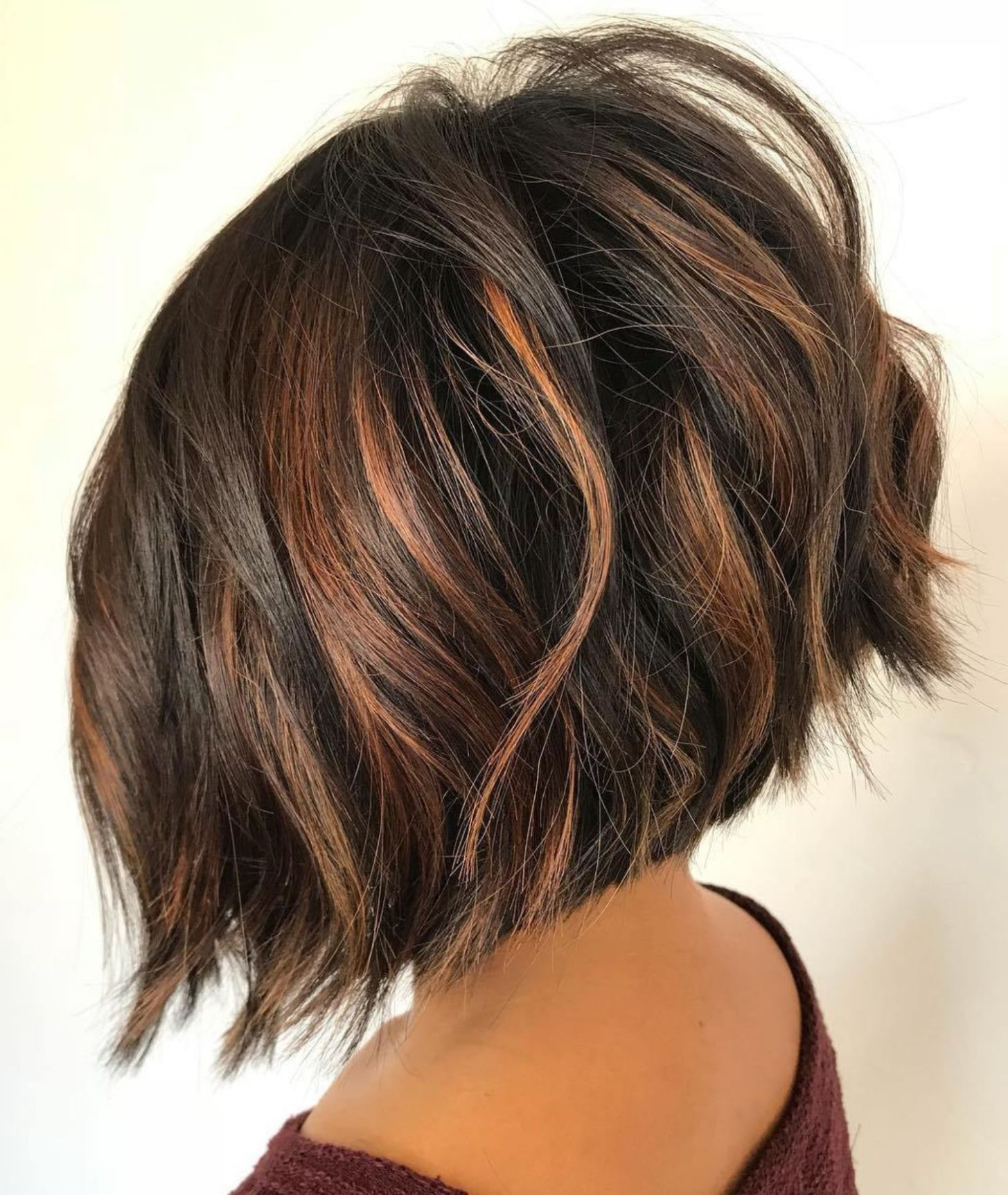 60 Most Beneficial Haircuts For Thick Hair Of Any Length In 2018 With Regard To Angled Bob Hairstyles For Thick Tresses (View 1 of 20)