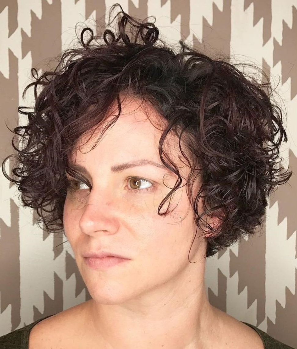 Featured Photo of Short Messy Curly Hairstyles