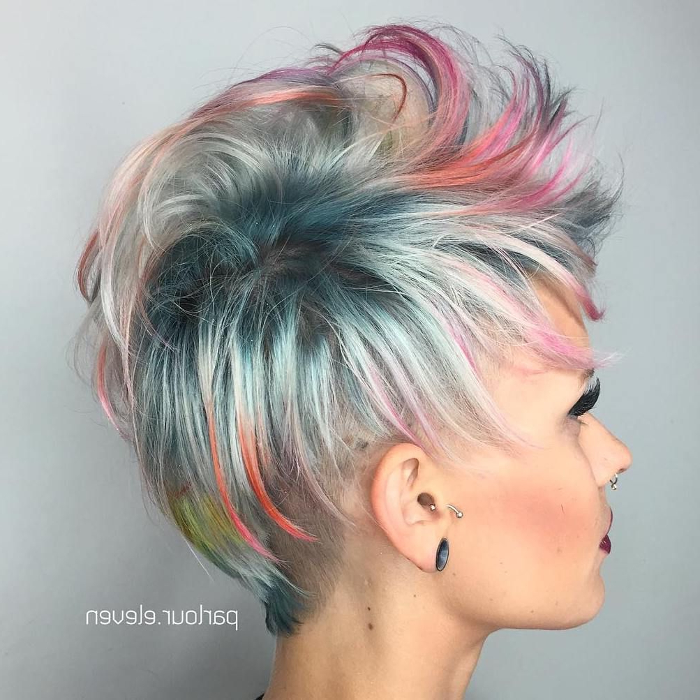 60 Overwhelming Ideas For Short Choppy Haircuts | Hair | Pinterest Within Sexy Pastel Pixie Hairstyles (View 14 of 20)