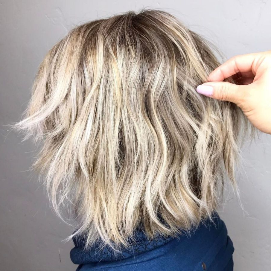 60 Short Shag Hairstyles That You Simply Can't Miss | Hair Regarding Wavy Bronde Bob Shag Haircuts (View 13 of 20)