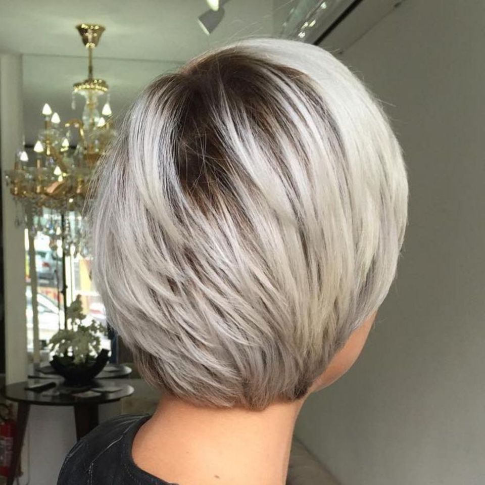 60 Short Shag Hairstyles That You Simply Can't Miss In 2018 | Hair Intended For Ash Blonde Bob Hairstyles With Feathered Layers (View 14 of 20)