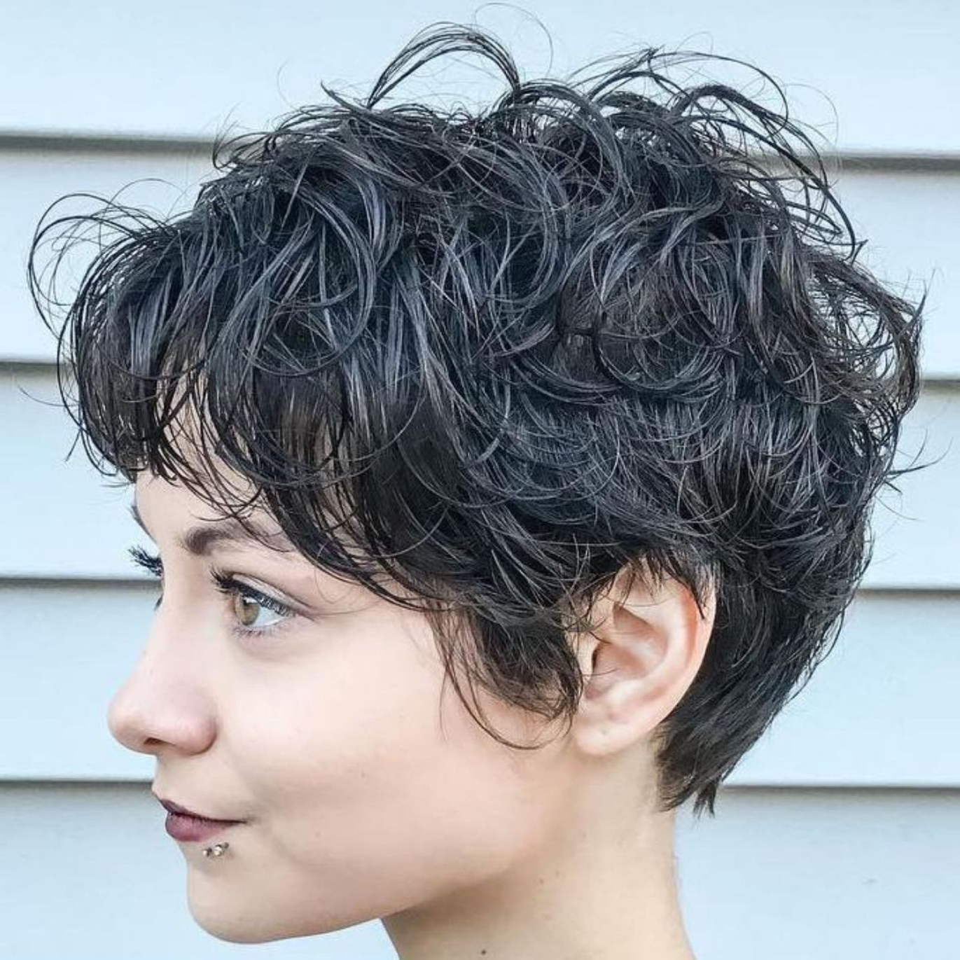60 Short Shag Hairstyles That You Simply Can't Miss In 2018 | Short Within Long Messy Curly Pixie Haircuts (View 8 of 20)