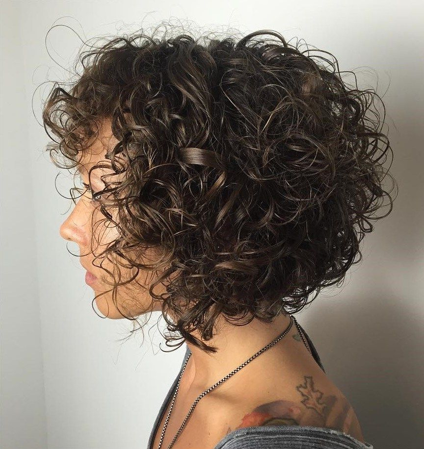 60 Styles And Cuts For Naturally Curly Hair In 2018 | Hair With Regard To Black Wet Curly Bob Hairstyles With Subtle Highlights (View 3 of 20)
