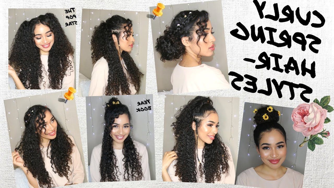 7 Spring/summer Hairstyles For Naturally Curly Hair!lana Summer Inside Naturally Curly Hairstyles (View 7 of 20)