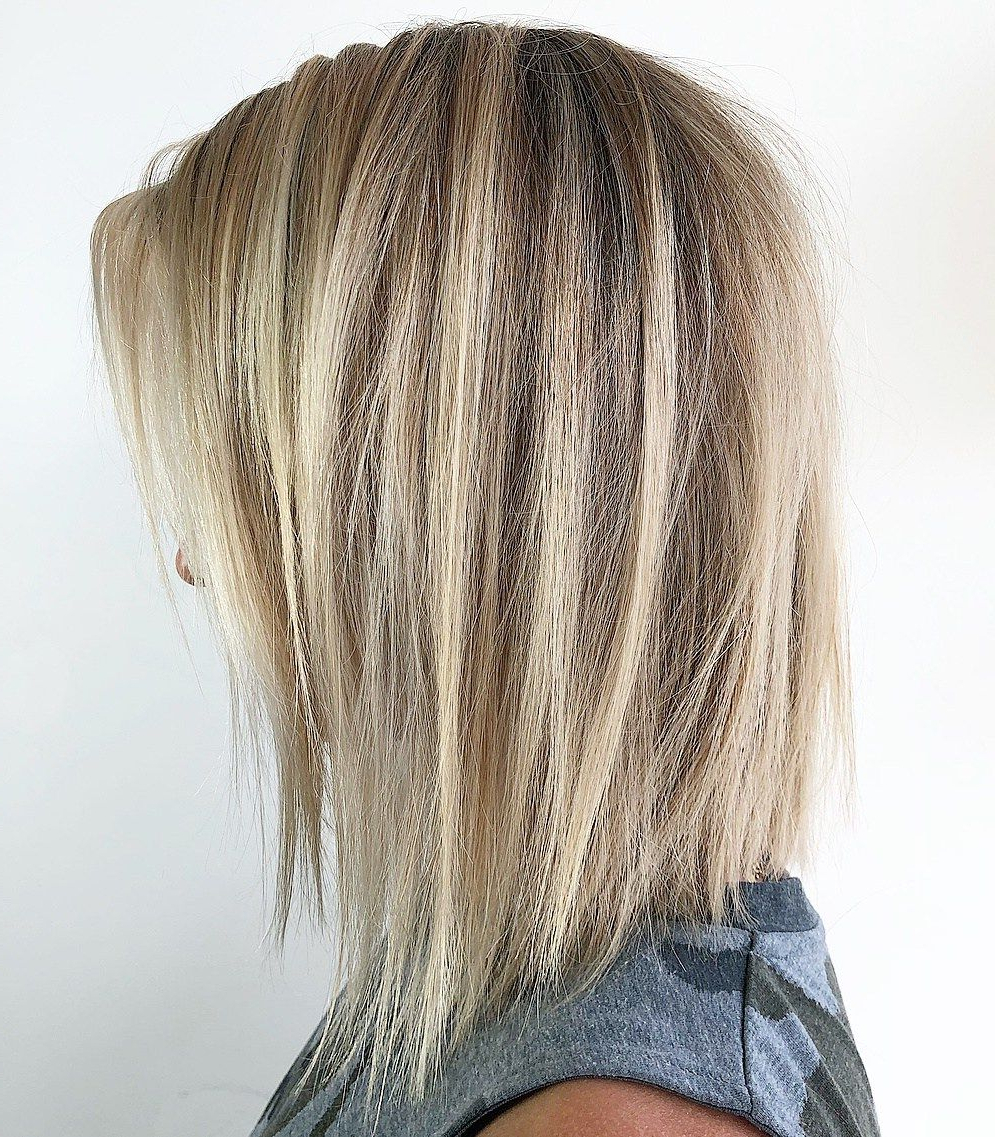 70 Darn Cool Medium Length Hairstyles For Thin Hair | Hair For Tmr In Stunning Poker Straight Bob Hairstyles (Gallery 10 of 20)
