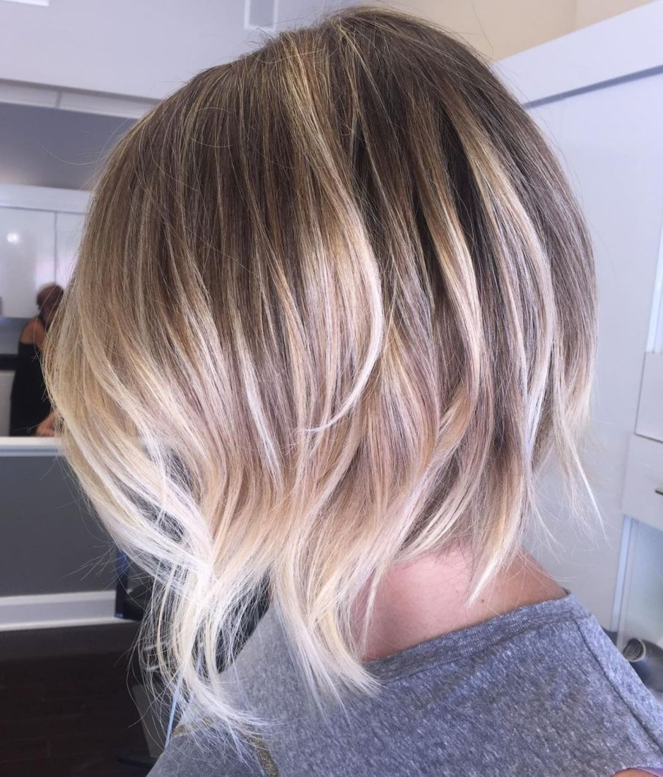 70 Fabulous Choppy Bob Hairstyles | Hair | Pinterest | Choppy Layers Inside Choppy Wispy Blonde Balayage Bob Hairstyles (View 2 of 20)