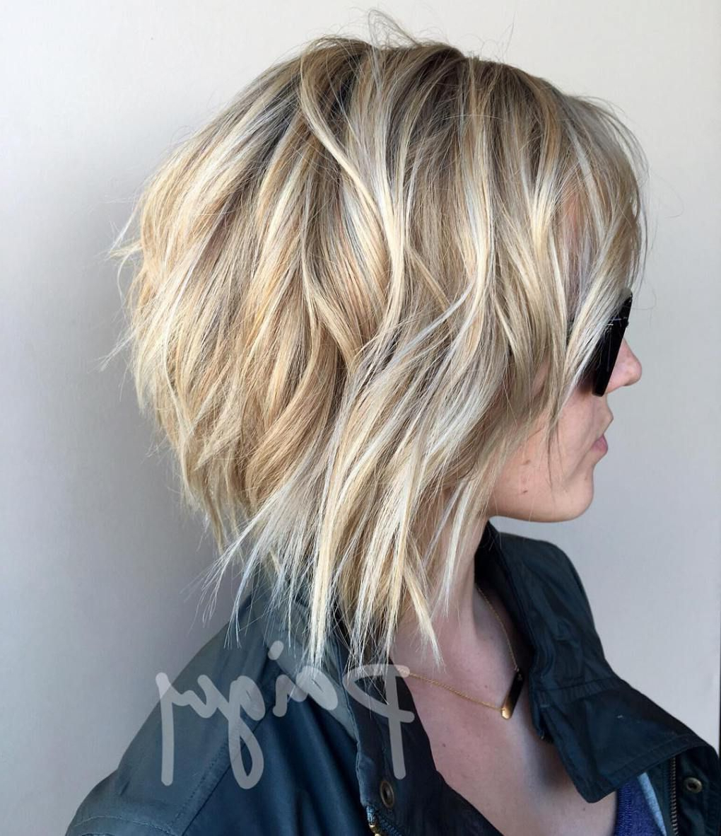 Featured Photo of Tousled Razored Bob Hairstyles