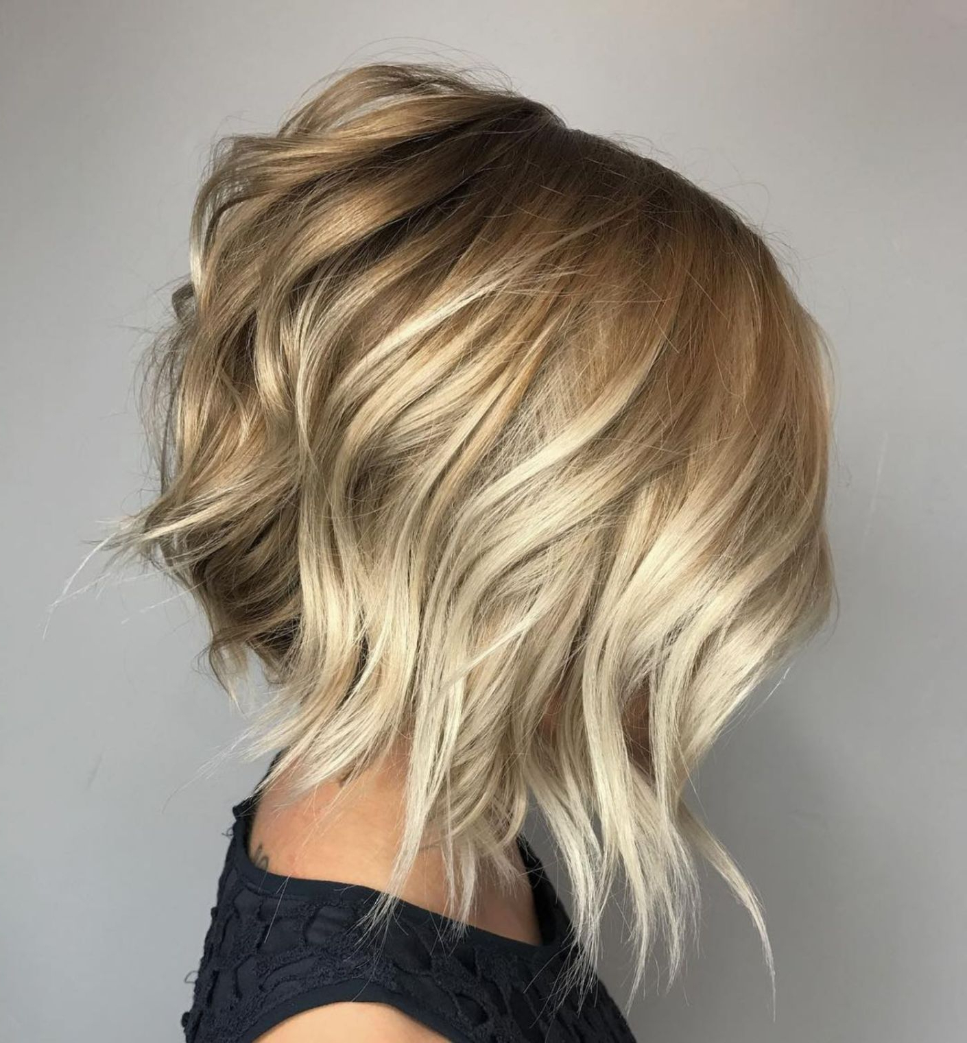 70 Fabulous Choppy Bob Hairstyles In 2018 | Hair Styles | Pinterest For Hazel Blonde Razored Bob Hairstyles (View 16 of 20)