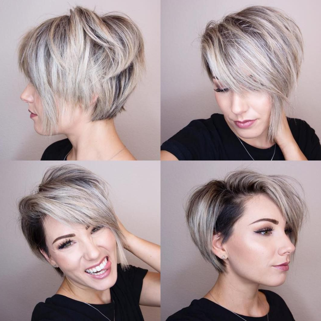 70 Short Shaggy, Spiky, Edgy Pixie Cuts And Hairstyles In 2018 In Undercut Bob Hairstyles With Jagged Ends (Gallery 2 of 20)