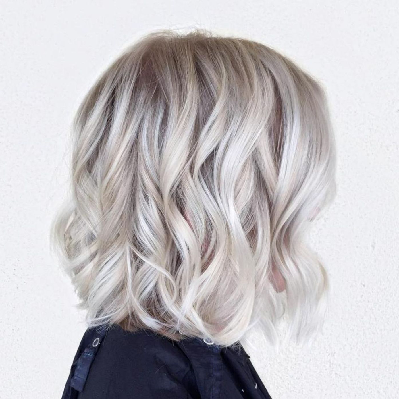 70 Winning Looks With Bob Haircuts For Fine Hair In 2018 | Hair Intended For White Blonde Curly Layered Bob Hairstyles (View 10 of 20)