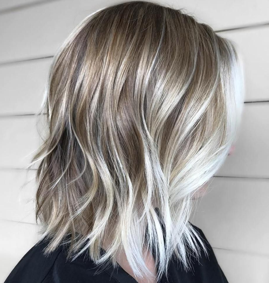 70 Winning Looks With Bob Haircuts For Fine Hair In 2018 | Straight Regarding Silver Balayage Bob Haircuts With Swoopy Layers (Gallery 4 of 20)