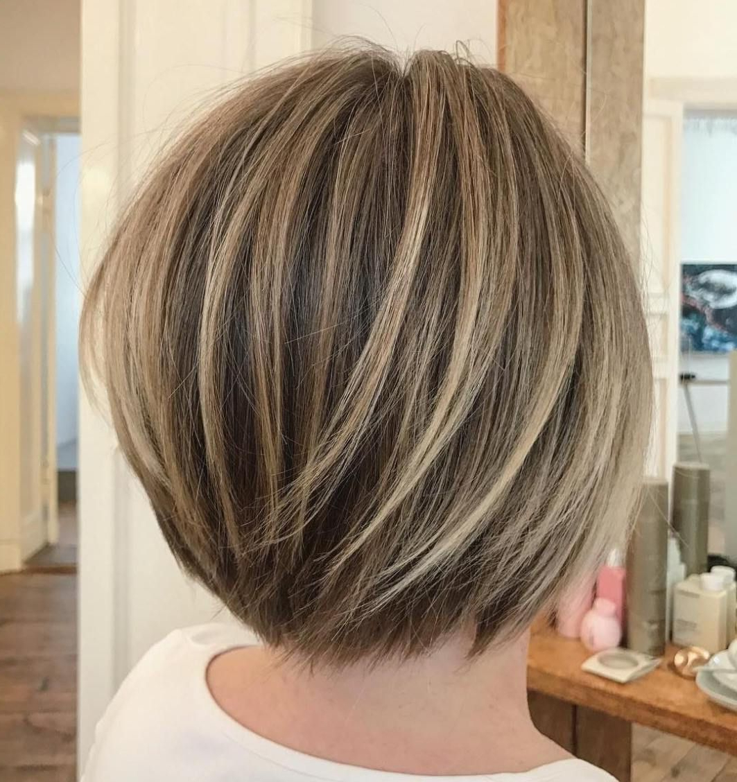 Featured Photo of Short Stacked Bob Hairstyles With Subtle Balayage