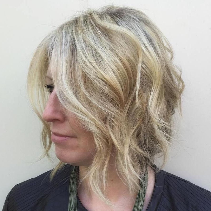 70 Winning Looks With Bob Haircuts For Fine Hair | Wavy Bobs, Bobs Throughout Southern Belle Bob Haircuts With Gradual Layers (View 17 of 20)