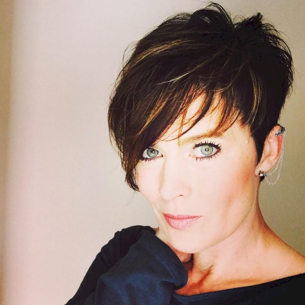 72 Classy Short Pixie Haircuts And Hairstyles For Thick Hair | Hair For Short And Classy Haircuts For Thick Hair (View 10 of 20)