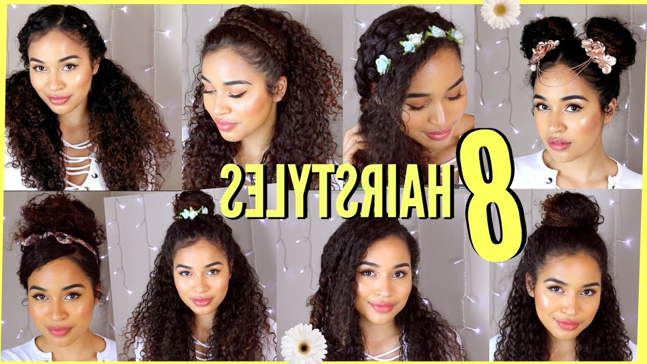 8 Spring/summer Hairstyles For Naturally Curly Hair!lana Summer In Naturally Curly Hairstyles (View 8 of 20)