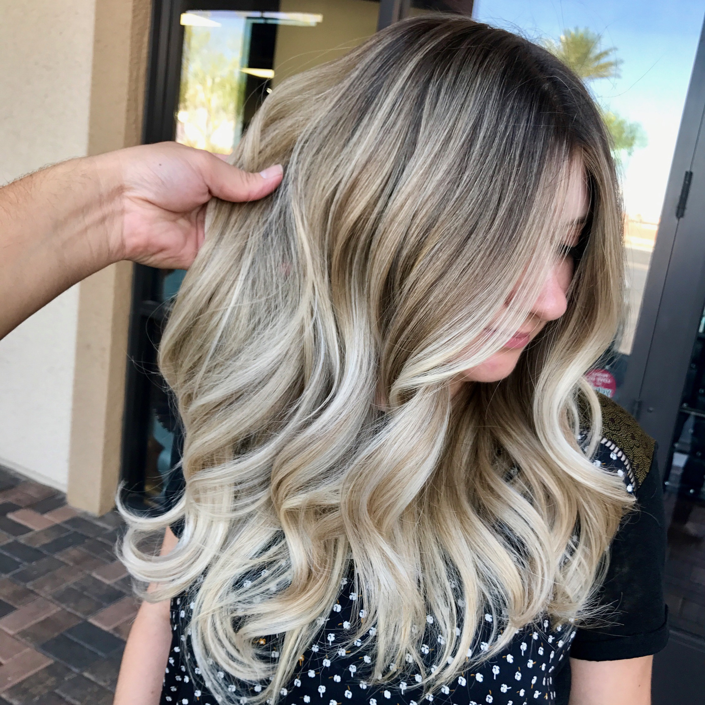 9 Blonde Formulas Every Colorist Should Know – Behindthechair With High Contrast Blonde Balayage Bob Hairstyles (View 11 of 20)
