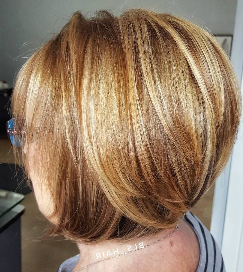 90 Classy And Simple Short Hairstyles For Women Over 50 | Hairstyles Regarding Pixie Bob Hairstyles With Golden Blonde Feathers (View 13 of 20)