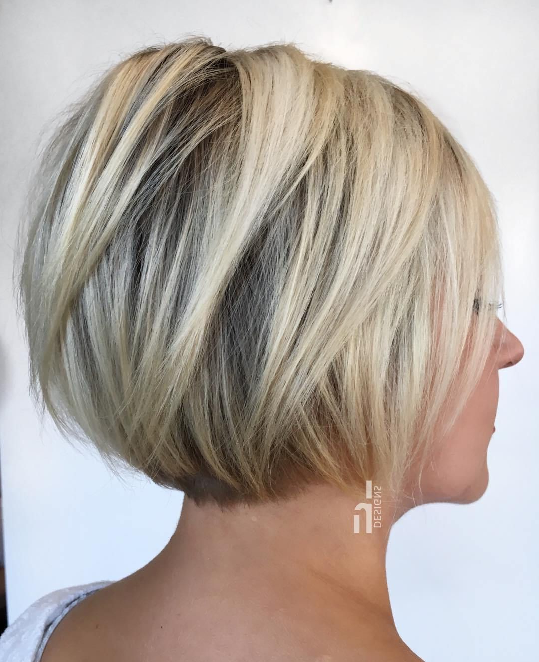 90 Classy And Simple Short Hairstyles For Women Over 50 | My Bob Fav With Regard To Messy Pixie Haircuts With V Cut Layers (Gallery 5 of 20)