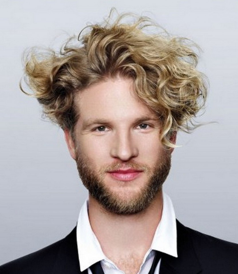 96 Curly Hairstyle & Haircuts – Modern Men's Guide With Dark Blonde Short Curly Hairstyles (Gallery 10 of 20)