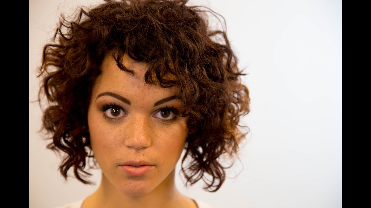 A Line Bob Haircut On Curly Hair – On The Road Education – Paul Within Short Bob For Curly Hairstyles (View 7 of 20)