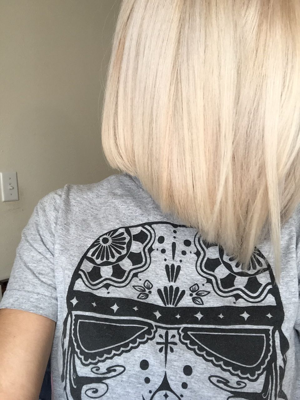 A Line Bob, Platinum Blonde :) | Hair Inspirations In 2018 In Butter Blonde A Line Bob Hairstyles (View 9 of 20)