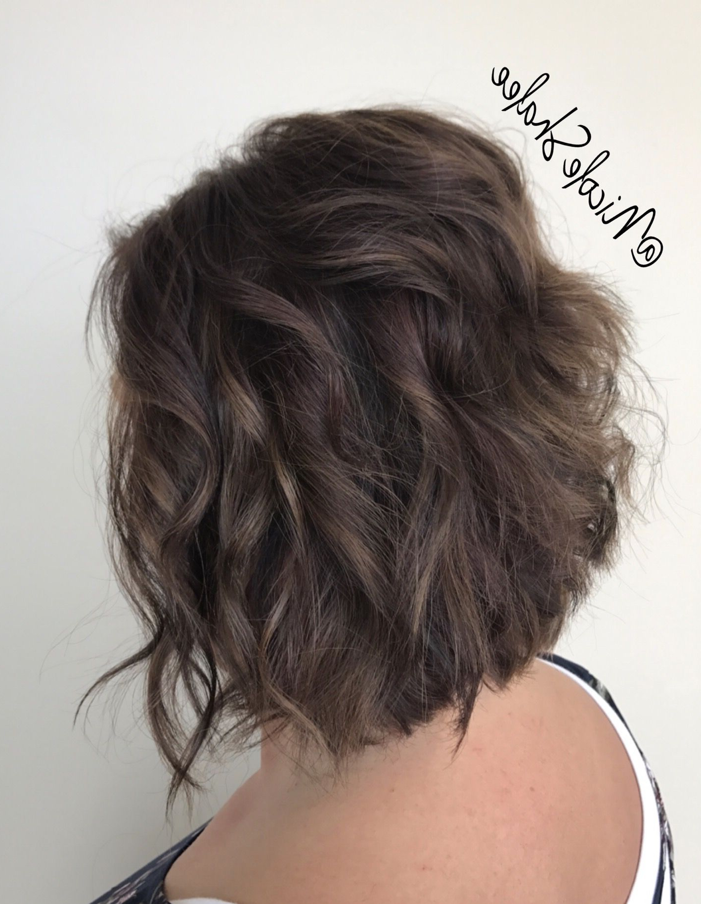 A Little Caramel A Little Cherry.. And A Whole Lot Of Regarding Stacked Black Bobhairstyles With Cherry Balayage (Gallery 9 of 20)