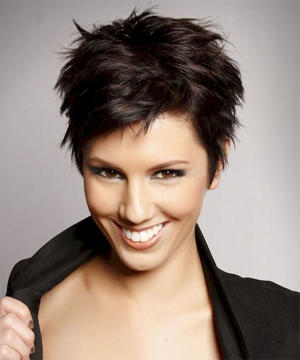 Adorable 72 Classy Short Pixie Haircuts And Hairstyles For Thick In Asymmetrical Haircuts For Thick Hair (View 16 of 20)