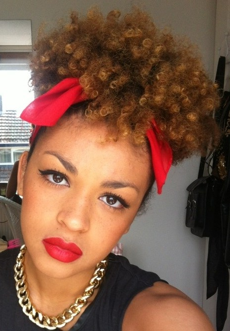 African American Short Curly Hairstyles | The Best Hairstyles Pertaining To Curly Black Tapered Pixie Hairstyles (View 10 of 20)