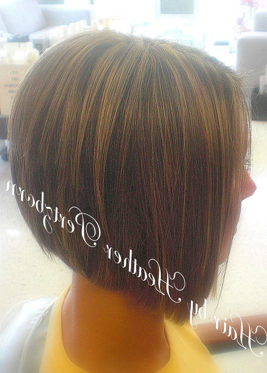Angle Forward Hair Stacked In Back, A Line Haircut Victoria Beckham Regarding A Line Amber Bob Haircuts (View 11 of 20)