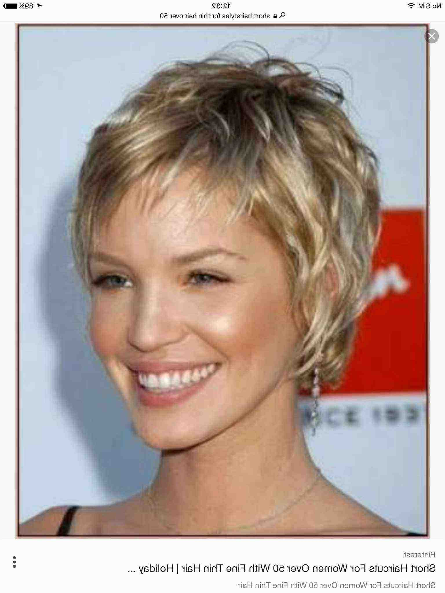 Awesome Short Haircuts For Fine Hair Over 60 • Hairstyletrends With Regard To Feathered Pixie Hairstyles For Thin Hair (Gallery 14 of 20)