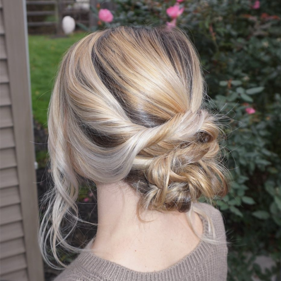 Best And Newest Fancy Updo With A Side Ponytails For 28 Super Easy Prom Hairstyles To Try (View 6 of 20)