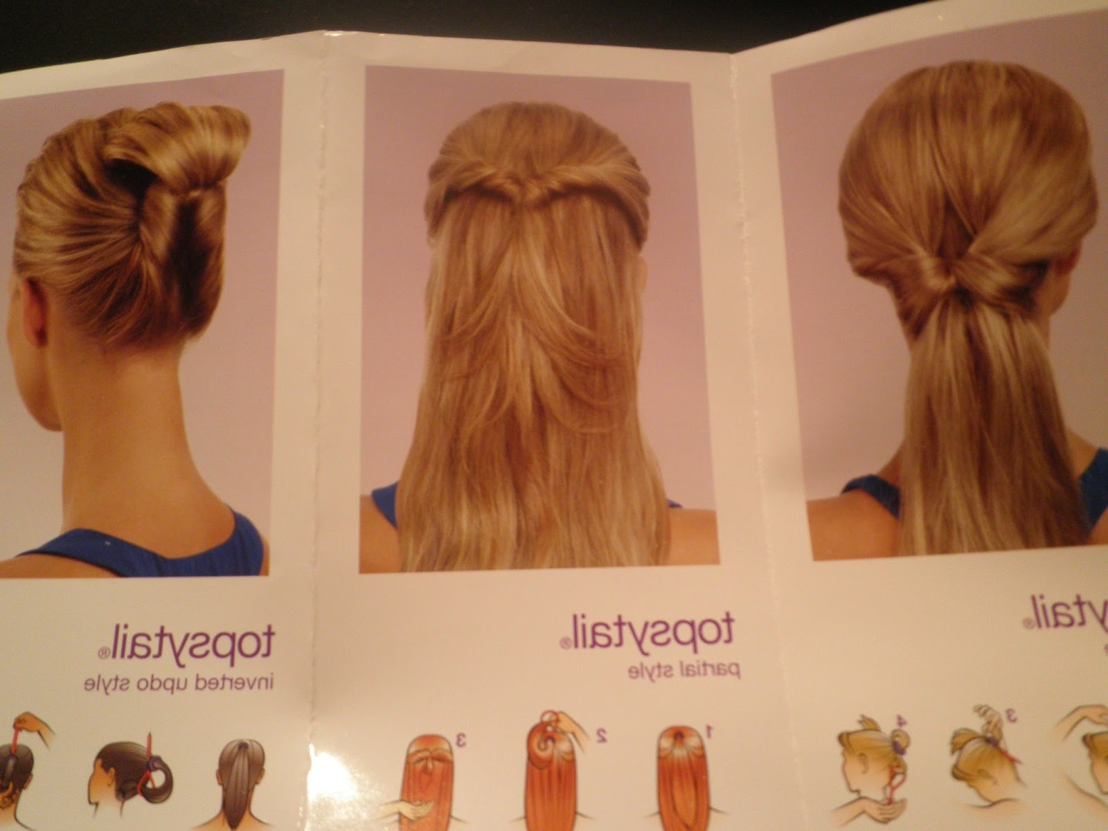 Best And Newest Topsy Tail Low Ponytails Intended For Phenomenalhaircare: Topsy Tail Updo Hairstyling (View 5 of 20)