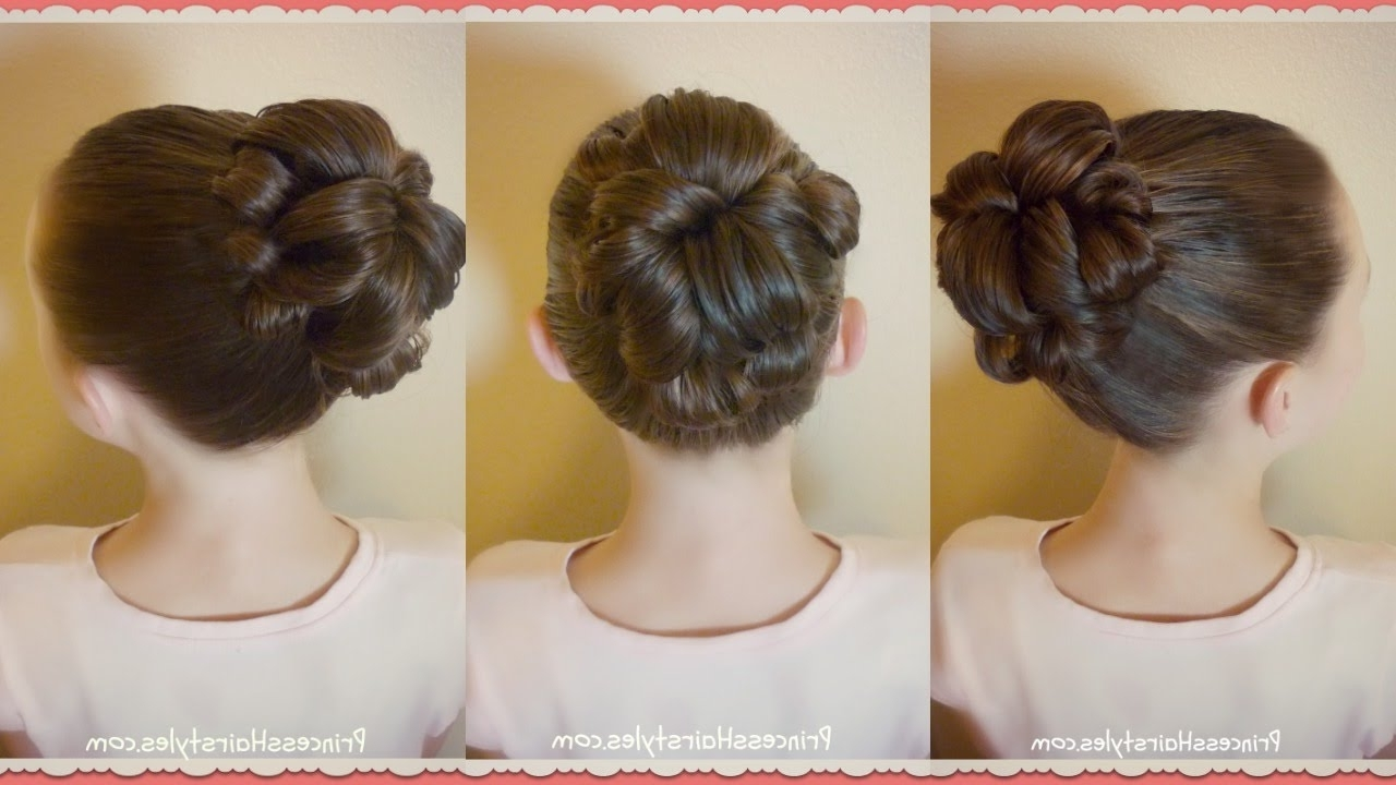 Best And Newest Topsy Tail Low Ponytails Throughout Topsy Tail Bun Tutorial, Quick And Easy Hairstyle For Dance! – Youtube (View 6 of 20)