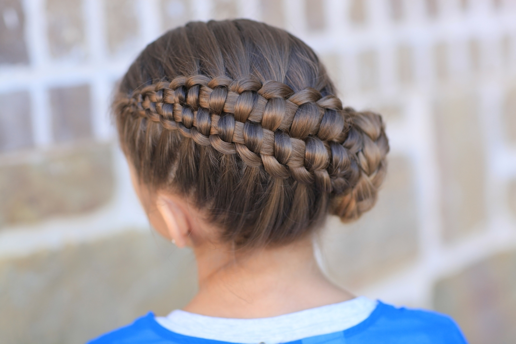Best And Newest Twin Braid Updo Ponytail Hairstyles Throughout How To Create A Zipper Braid (View 8 of 20)