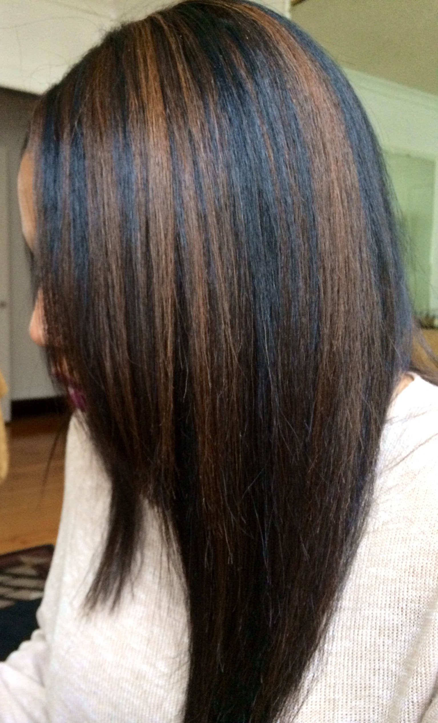 Black Hair With Caramel Highlights | Hair In 2018 | Pinterest | Hair For Black Wet Curly Bob Hairstyles With Subtle Highlights (View 9 of 20)