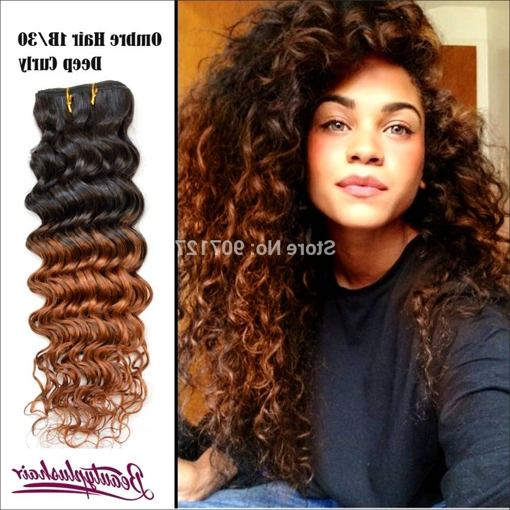 Black Natural Curly Hair With Highlights – Amazinghairstyles (View 3 of 20)