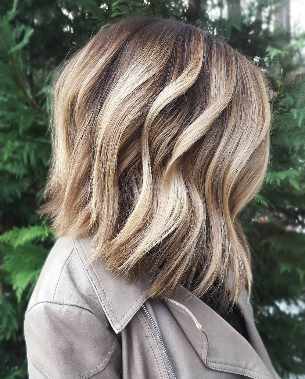Blonde Hair Color Shades {best Ideas For 2018} With Angelic Blonde Balayage Bob Hairstyles With Curls (View 16 of 20)