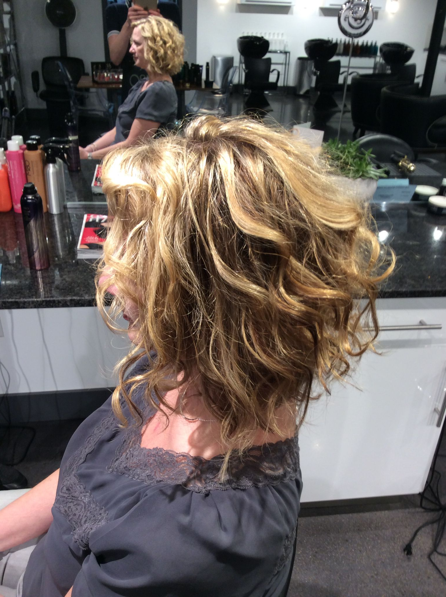 Blonde Highlights On Natural Curly Hair (View 16 of 20)