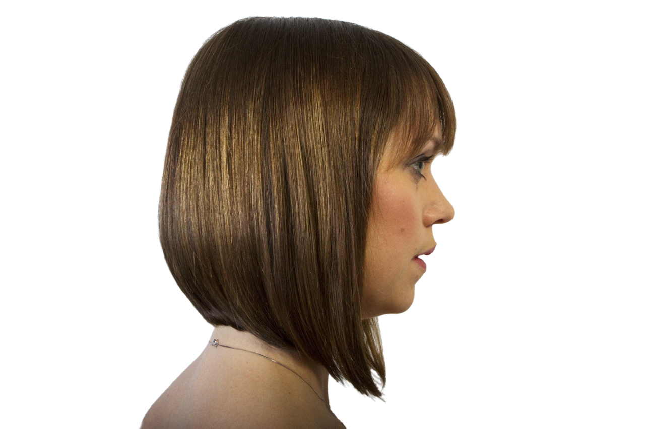 20 Photo Of Straight Cut Two-Tone Bob Hairstyles