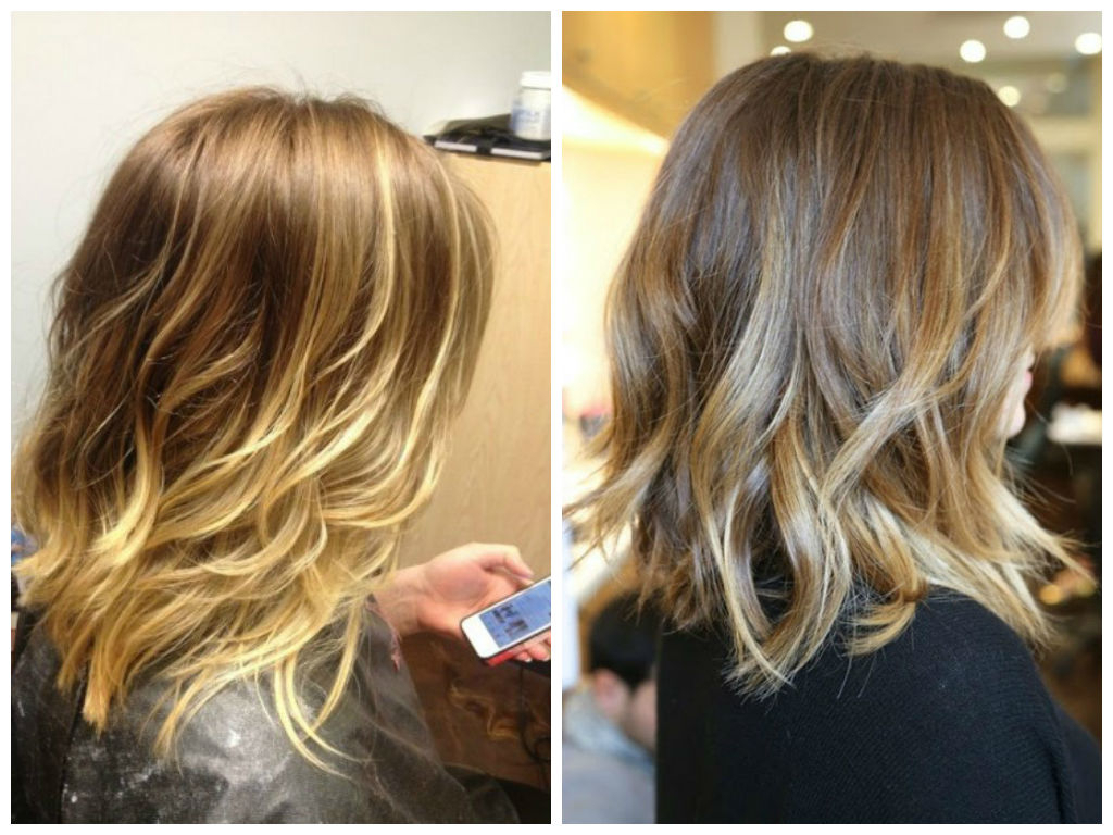 Bob Hairstyle Ideas With Ombre Color – Hair World Magazine With Choppy Golden Blonde Balayage Bob Hairstyles (View 17 of 20)