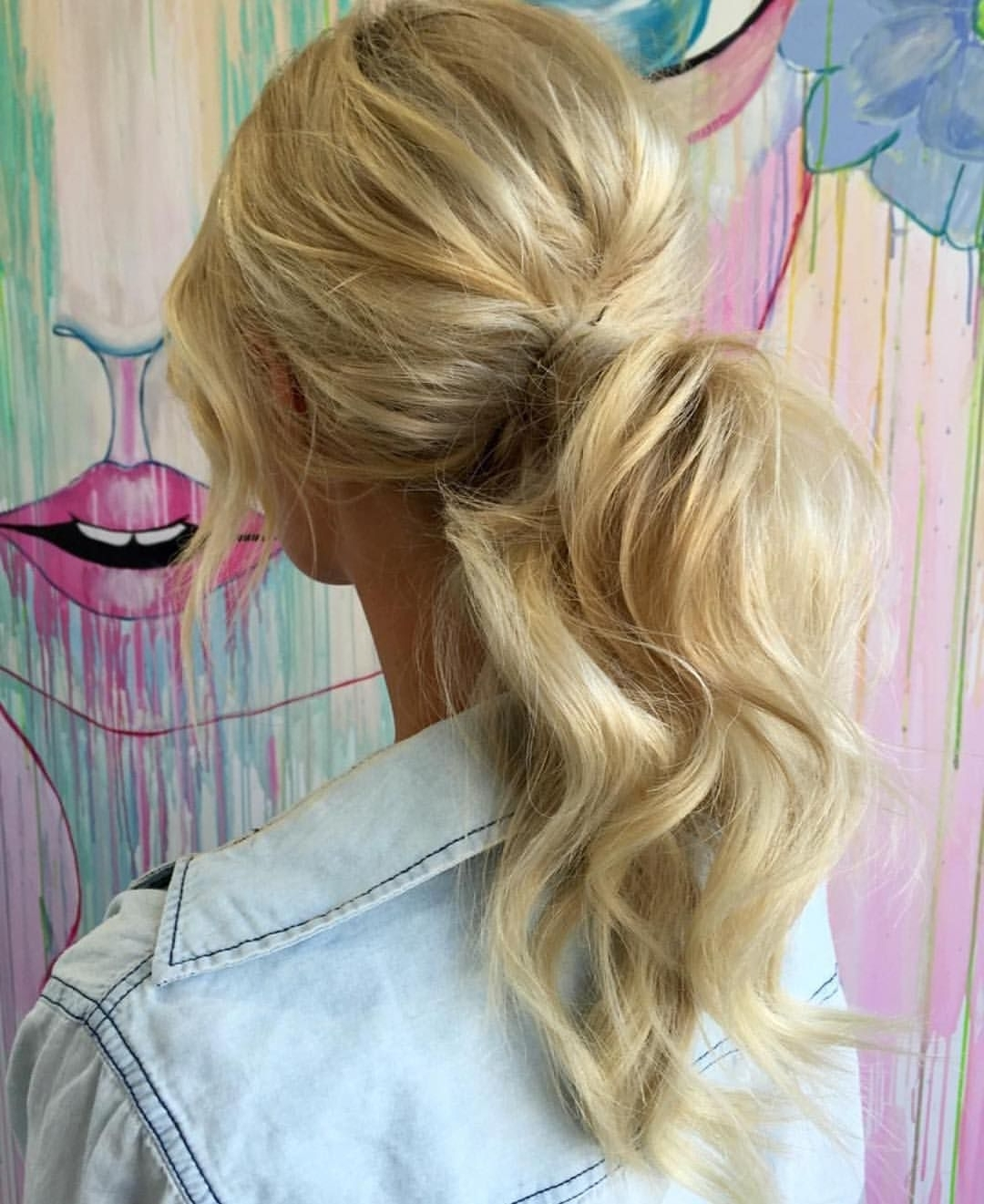 "Bondi Sands™ On Instagram: ""Ponytail Goals@hbkandcohairdressing For Fashionable Charmingly Soft Ponytail Hairstyles (View 6 of 20)"