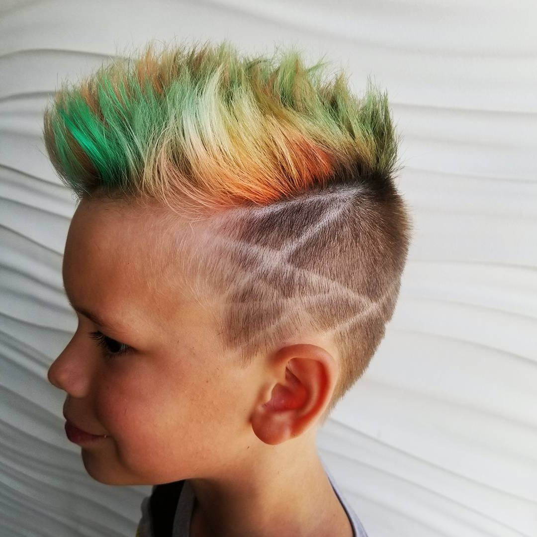 Boys Fade Haircuts Intended For Short Spiked Haircuts (View 6 of 20)