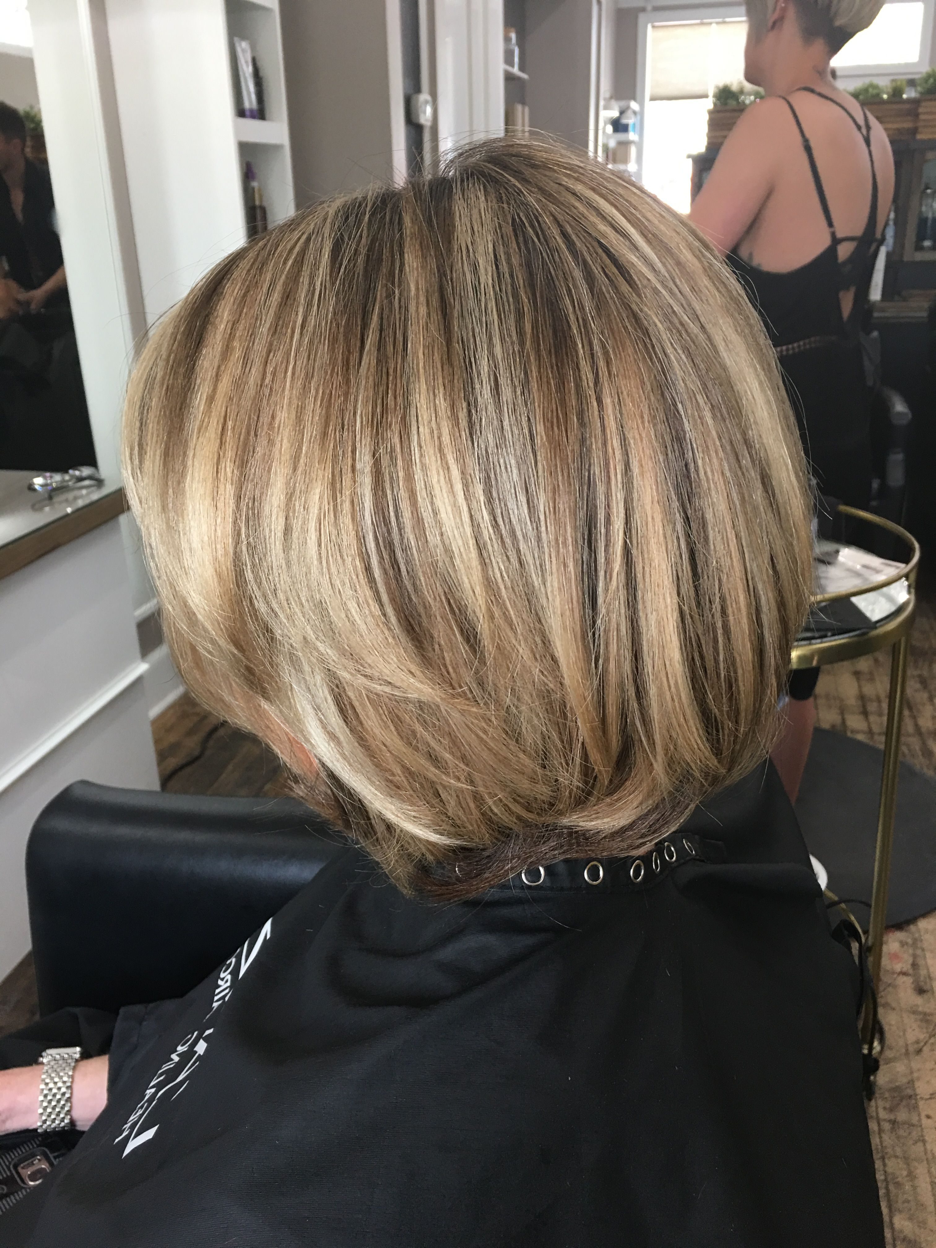 Bronde Bob, Layered Bob, Lob, Blonde Lob, Honey Blonde, Soft Blonde With Regard To Short Crisp Bronde Bob Haircuts (View 9 of 20)