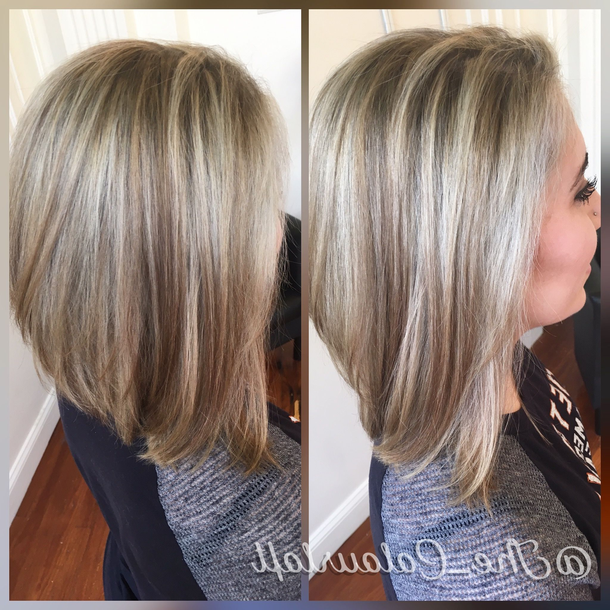 Caramel Lowlights With Ash Blonde Highlights (View 14 of 20)