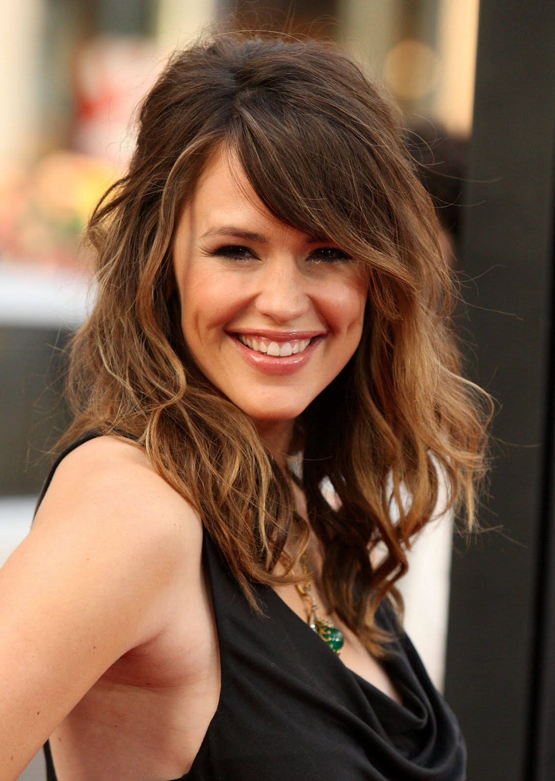 Celebrity World: Long Brunette Hairstyles Regarding Curly Brunette Bob Hairstyles With Bangs (View 13 of 20)