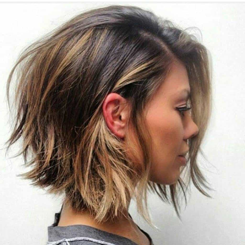 Choppy Layered Haircut: 7 Ways To Bring Back Bedhead With Short Bob Hairstyles With Long Edgy Layers (View 18 of 20)