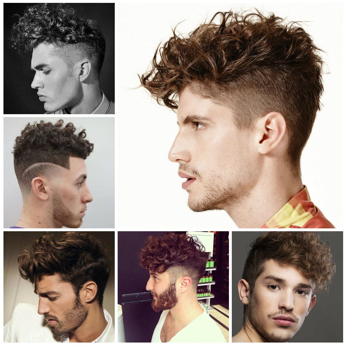 Cool Curly Undercut Hairstyles For Men 2017 | N Hair In 2018 For Undercut Hairstyles For Curly Hair (View 6 of 20)