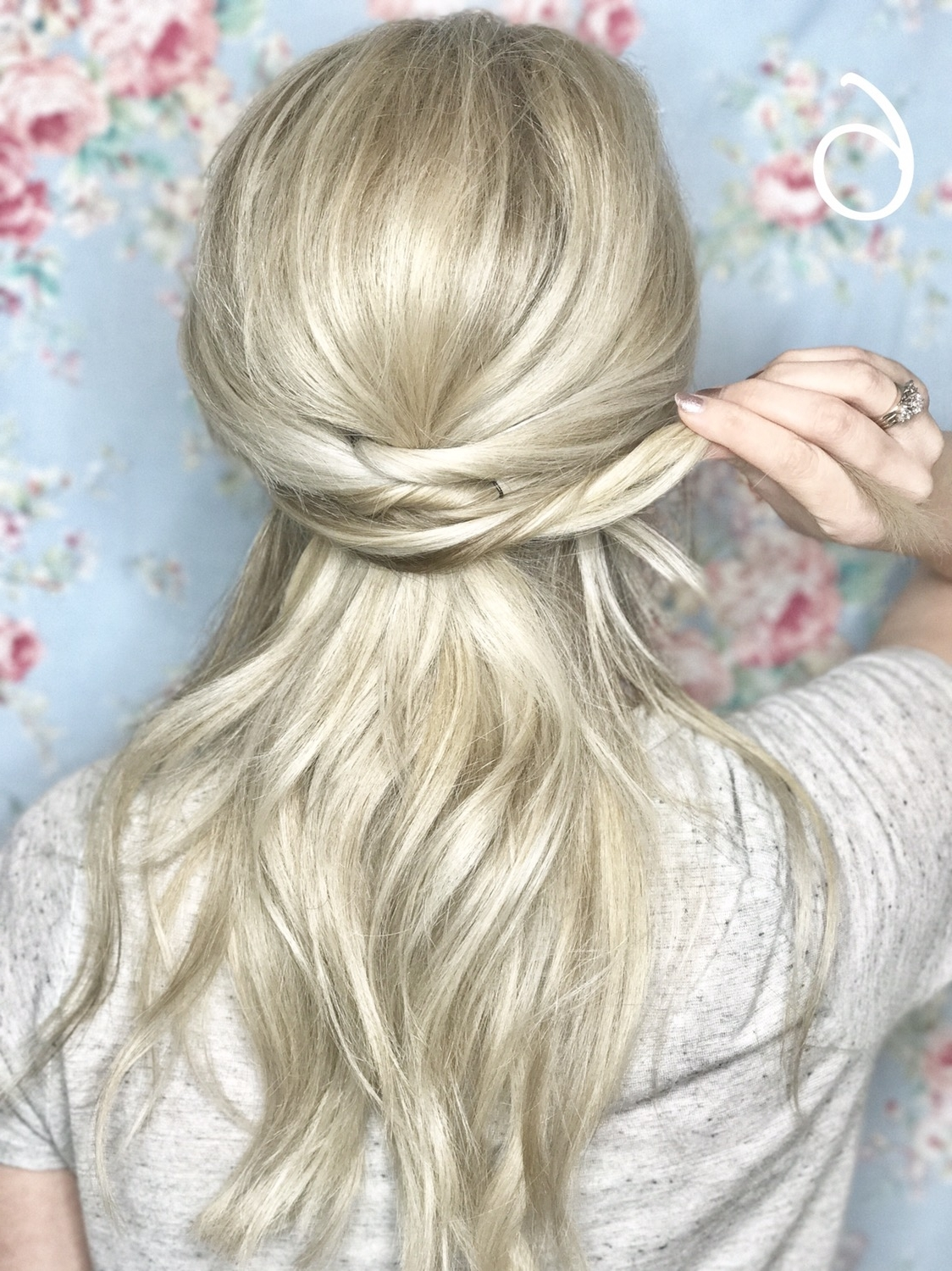Criss Cross Ponytail – Emily Holland Pertaining To Latest Criss Cross Side Ponytails (View 8 of 20)